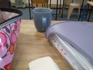 tea in drama practice! obvies ;)